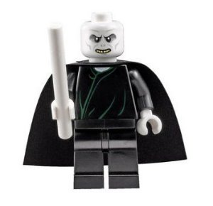 Mini Figura Compatível Lego Voldemort Saga Harry Potter