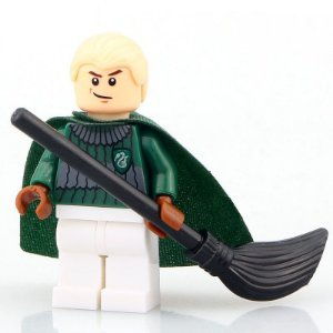Mini Figura Compatível Lego Draco Malfoy Saga Harry Potter