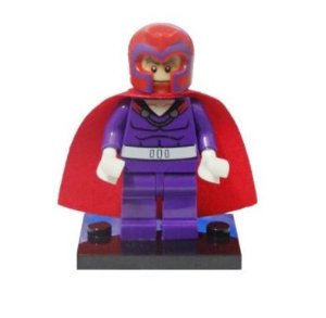 Mini Figura Compatível Lego Magneto X-MEN Marvel (Edição Especial)