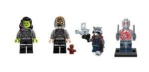 Kit Guardiões da Galáxia LEGO compatível c/5