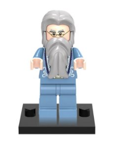Mini Figura Compatível Lego Dumbledore Saga Harry Potter