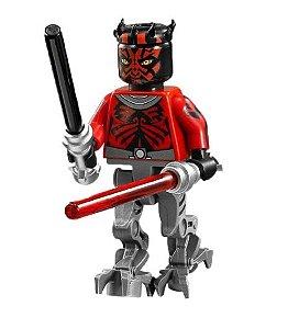 Mini Figura Compatível Lego Darth Maul Star Wars (Edição Especial)