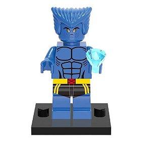 Boneco Fera Lego Compatível - Marvel X-Men