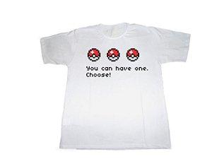 Camiseta Pokémon (Pokébolas) - Masculino