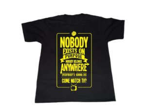Camiseta Rick and Morty (Nobody exists on purpose) - Masculina