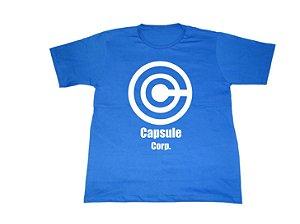 Camiseta Dragon Ball Capsule Corp - Masculina