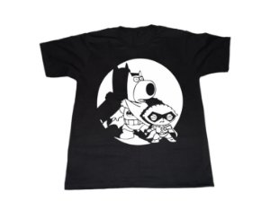 Camiseta Family Guy Batman e Robin - Masculina