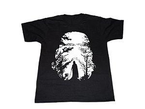 Camiseta Darth Vader Floresta - Masculina