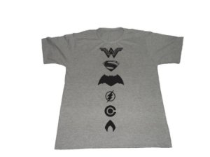 Camiseta Liga da Justiça - Masculina