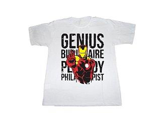 Camiseta Homem De Ferro - Masculina