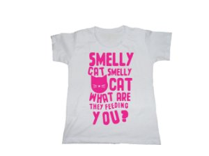 Camiseta Friends Smelly Cat - Baby Look