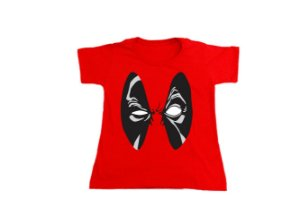Camiseta Deadpool - Baby Look