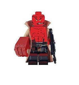 Mini Figura Compatível Lego Hellboy