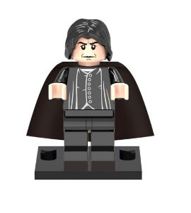 Mini Figura Compatível Lego Severo Snape - Saga Harry Potter
