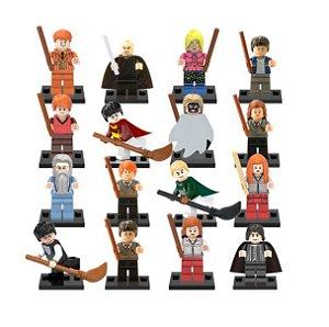 Kit Compatível Lego Harry Potter c/ 16