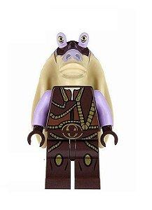 Boneco Jar Jar Binks Star Wars Lego Compatível