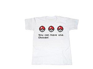 Camiseta Pokémon - Infantil