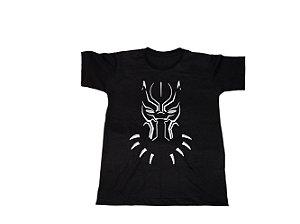 Camiseta Super Heróis Pantera Negra - Infantil