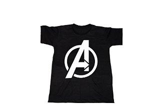 Camiseta Super Heróis Vingadores - Infantil