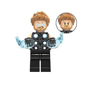 Boneco Compatível Lego Thor Marvel (Edição especial)