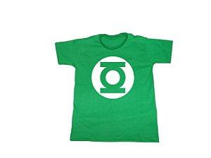 Camiseta Super Heróis Lanterna Verde - Infantil