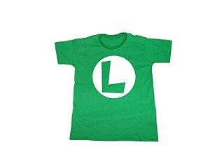 Camiseta Luigi - Infantil
