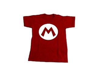 Camiseta Mario - Infantil