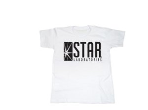 Camiseta Flash Star Labs - Infantil