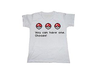 Camiseta Pokémon Pokéballs - Baby Look
