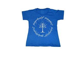Camiseta Senhor dos Anéis Árvore de Gondor - Baby Look