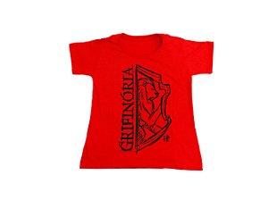 Camiseta Harry Potter Grifinória - Baby Look