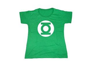 Camiseta Super Heróis Lanterna Verde - Baby Look
