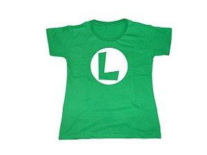 Camiseta Luigi - Baby Look