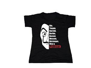 Camiseta La Casa de Papel - Baby Look