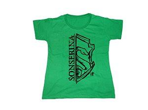 Camiseta Harry Potter Sonserina - Baby Look