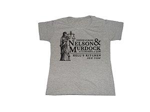 Camiseta Demolidor Nelson Murdock - Baby Look