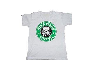 Camiseta Star Wars Star Bucks - Baby Look
