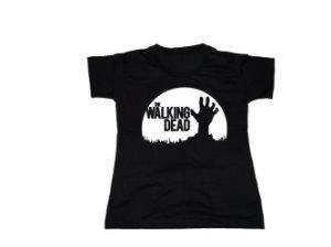 camiseta The Walking Dead - Baby Look