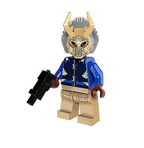Boneco Killmonger Lego Compatível - Pantera Negra Marvel