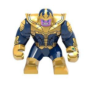 Boneco Thanos Lego Compatível (Edição especial / Big Figure) - Marvel