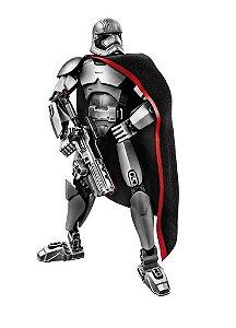 Boneco Star Wars - Capitã Phasma 26 Cm Compatível Lego 82 Peças