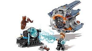 Set Compatível Lego Marvel Super Heroes Procura da Arma de Thor - 223 Peças