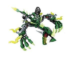 Dragão Fantasma Ninjago Lego Compatível (136 peças)