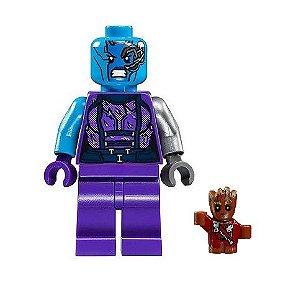 Boneco Nebulosa Lego Compatível - Guardiões da Galáxia (Edição Especial)