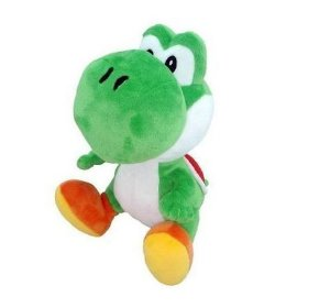 Pelúcia Yoshi Super Mario 15 Cm