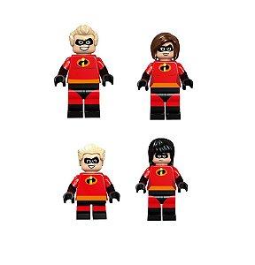 Kit Compatível Lego os Incríveis