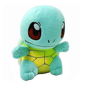 Pelúcia Pokémon Squirtle 18 Cm