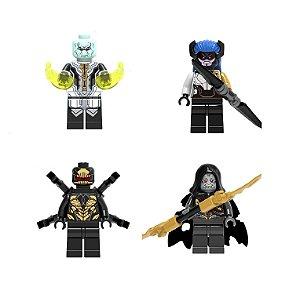 Set Exclusivo Filhos de Thanos Lego compatível - Vingadores Guerra Infinita Marvel