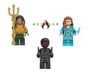 Set Filme Aquaman Lego Compatível - DC Comics