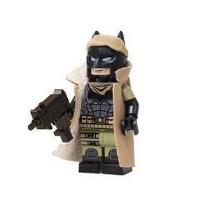 Boneco Batman Lego compatível versão Pesadelo Batman Vs Superman (Edição Deluxe)